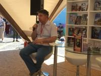 Премьера книги «Михаил Загоскин:  знакомый незнакомец» на Красной площади.