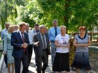 Председатель комиссии Общественной палаты РФ  осмотрел дворы в Пензе.