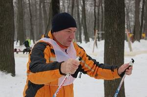 На Олимпийской аллее сотрудники Пензенского отделения ВДПО  приняли участие в лыжной гонке.