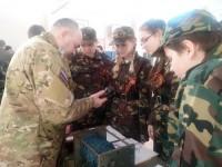 В МБОУ СОШ № 37 прошла военно-патриотическая игра «Зарничка».