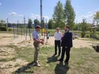 Члены Общественной палаты Пензенской области провели мониторинг состояния детских площадок в г. Спасск и селе Наровчат.