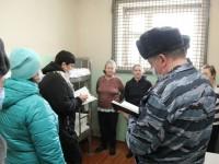 Члены ОНК посетили ФКУ СИЗО-1 УФСИН России по Пензенской области.
