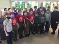 Дети посетили музей поисковых отрядов в Пензе