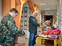 Пензенцы отправили гуманитарную помощь на Донбасс.