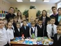 Новогодняя благотворительная акция «Дети - детям»