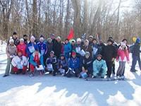 Областные соревнования по лыжным гонкам среди членов Профсоюза работников АПК РФ Пензенской области