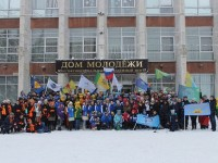 В Пензенской области прошла  линейка - старт   XIII Областного зимнего социального марафона «Весь мир - театр».