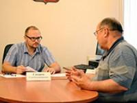 Глеб Синцов провел прием граждан