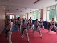 Тренировочные сборы в лагере